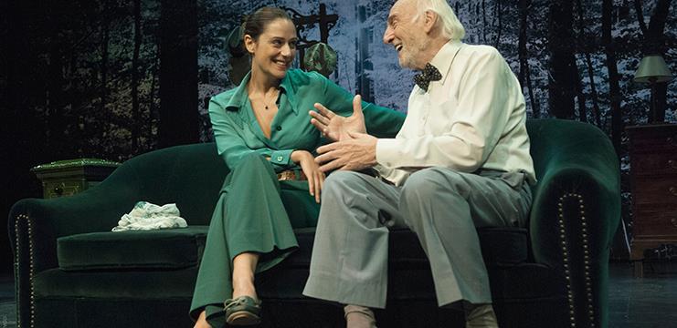 Luz Valdenebro y Héctor Alterio