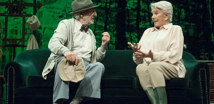Lola Herrera y Héctor Alterio