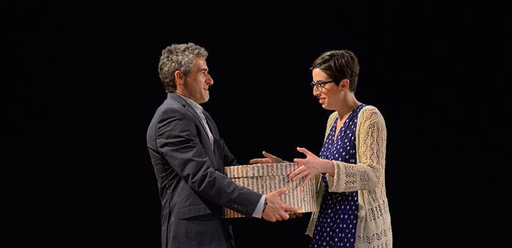 Alba Florejachs y Jordi Díaz