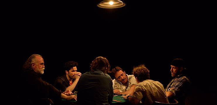 Amb Ramon Madaula, Andrew Tarbet, Marc Rodríguez, Joan Carreras, Andreu Benito, Oriol Vila