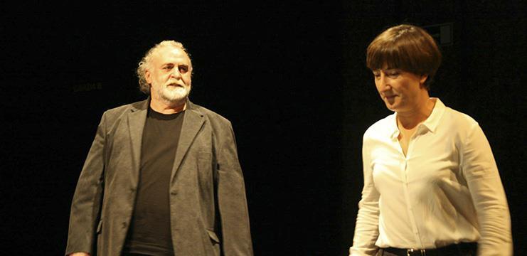 Andreu Benito i Mònica Glaenzel