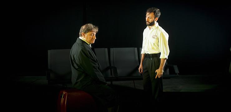 Dafnis Balduz y Fernando Sansegundo