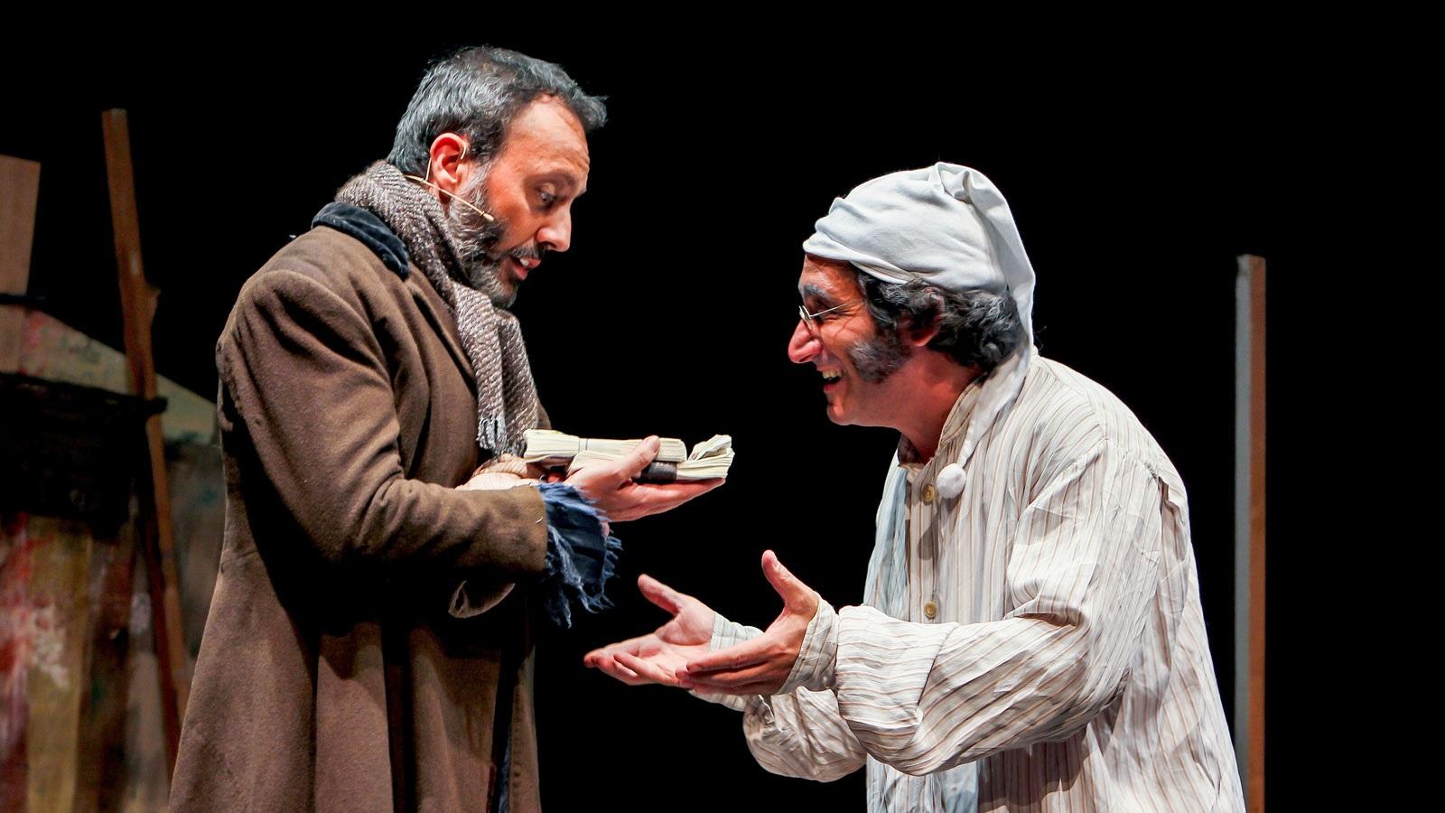 un conte de nadal teatre infantil petit romea barcelona