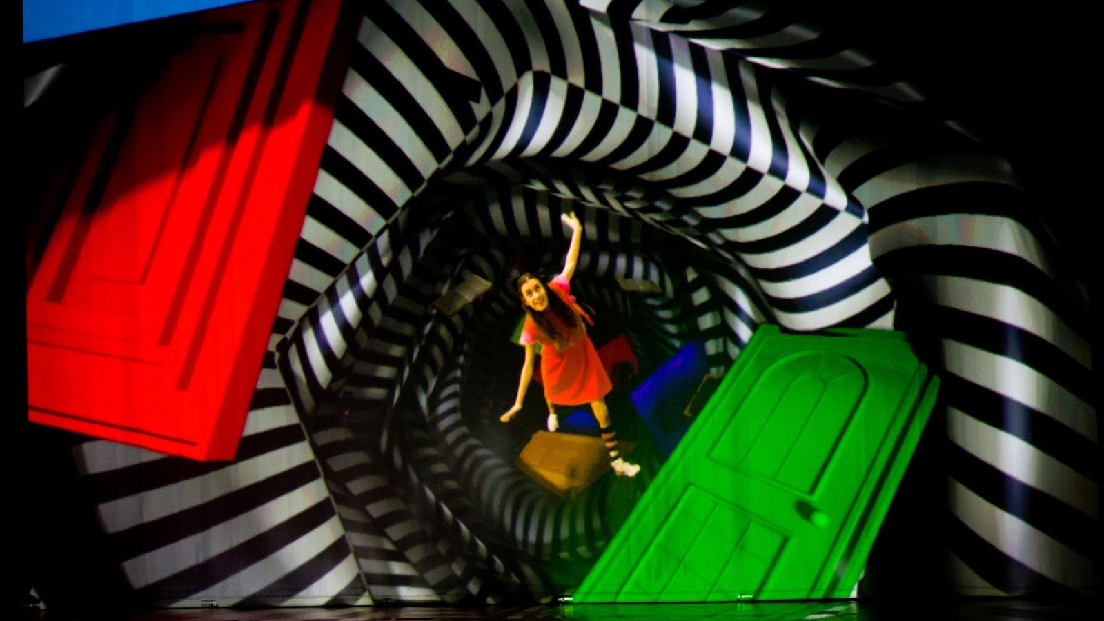 Alícia al país de les meravelles teatre infantil petit romea barcelona
