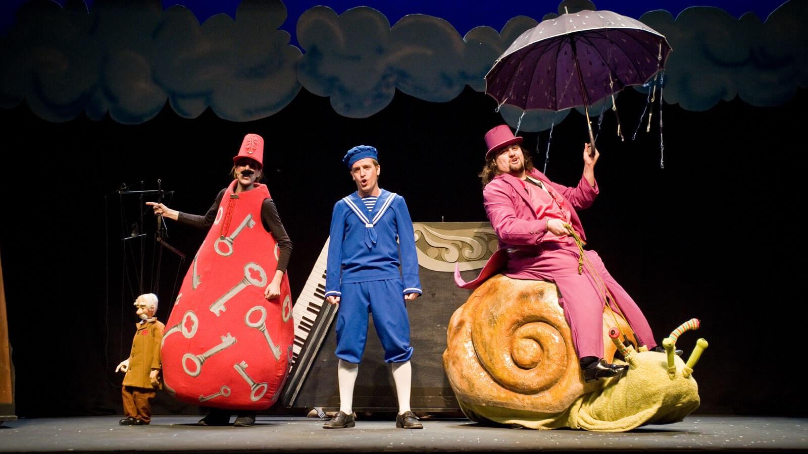 El Petit Dalí i el camí cap als somnis Petit Romea Teatre Infantil Barcelona