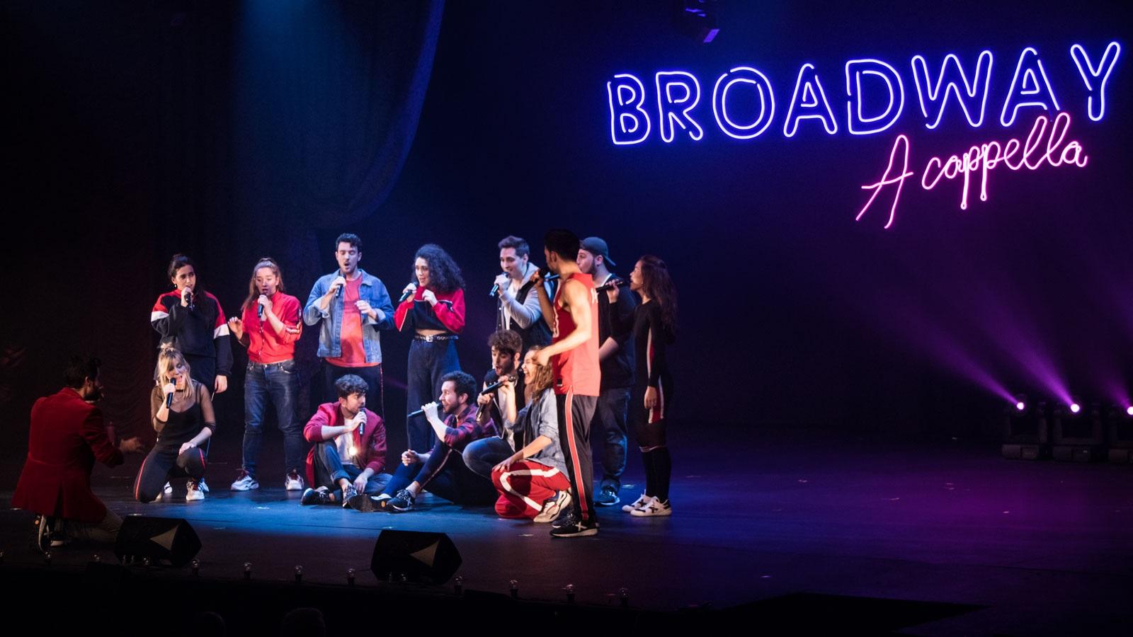 broadway a cappella onyric teatre condal