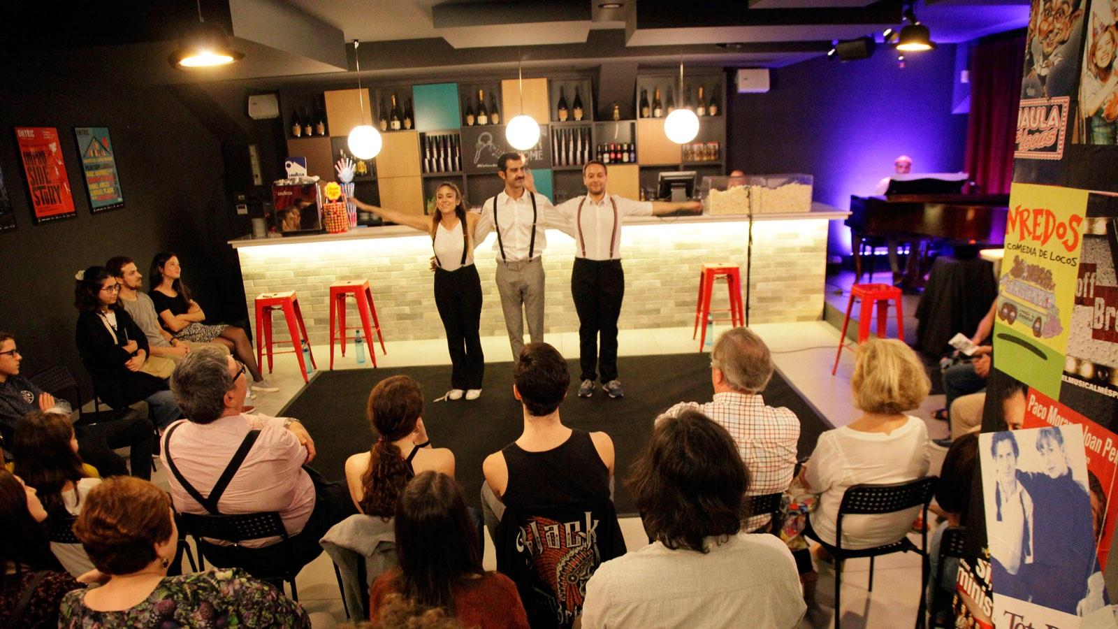 impro side story teatre condal barcelona