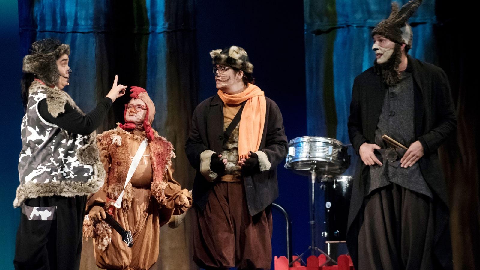Els músics de Bremen in concert teatre condal barcelona