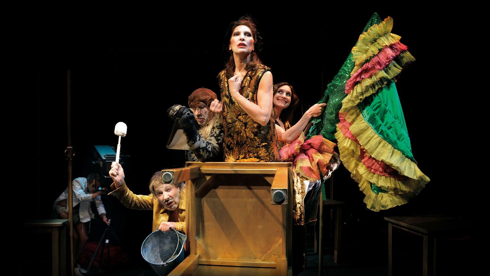 el desguace de las musas la zaranda teatre romea