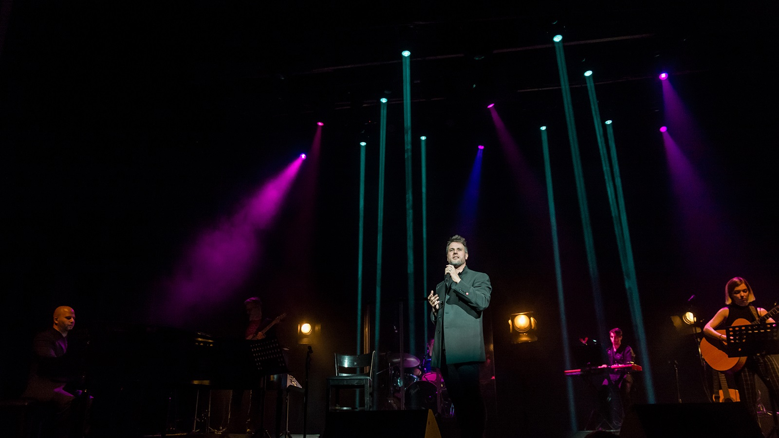 geronimo rauch en concert onyric teatre condal barcelona