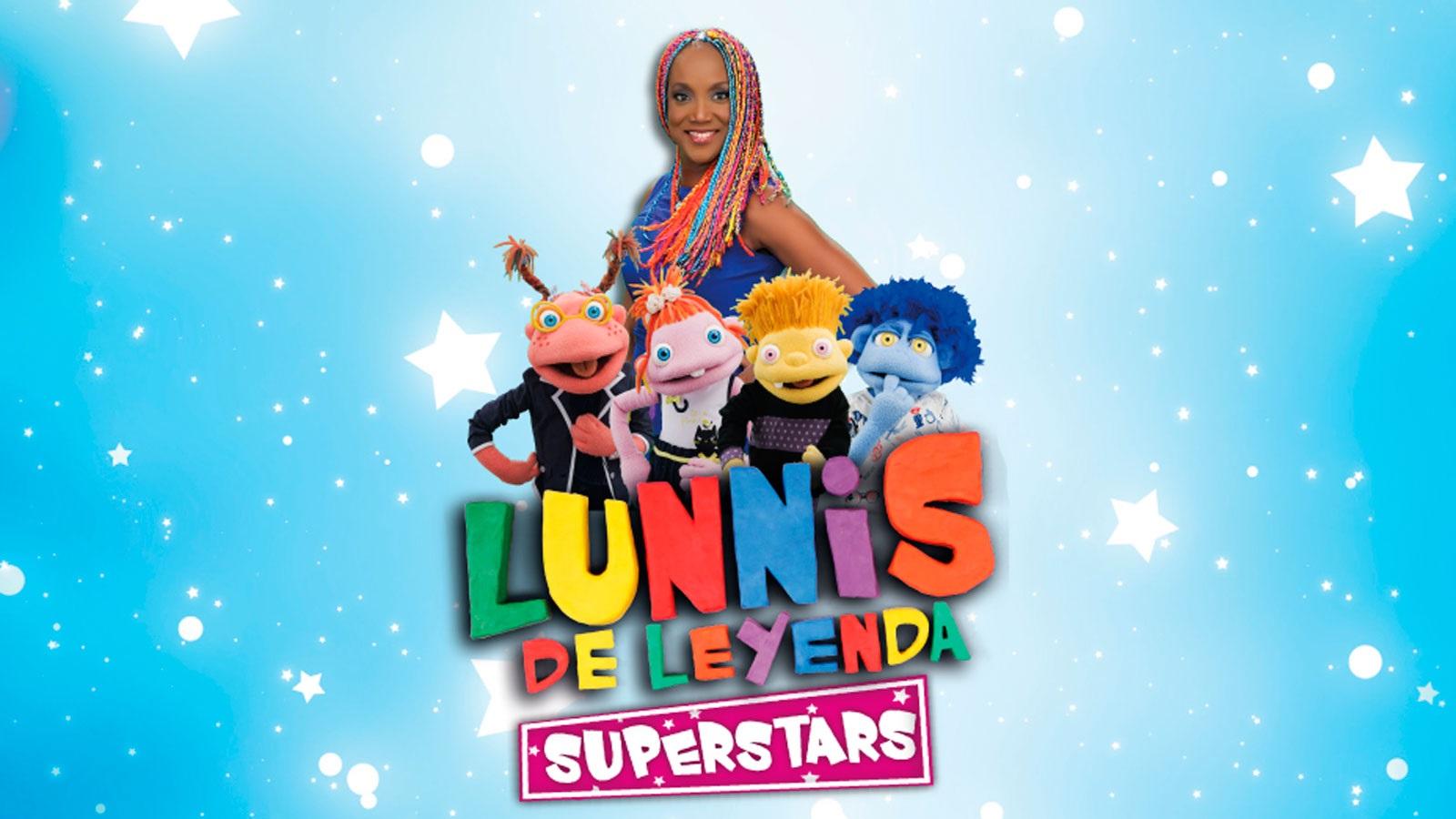 Lunnis de Leyenda Superstars ¡en vivo!