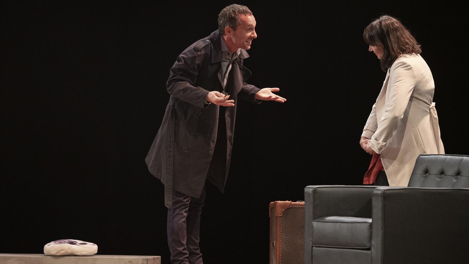 Pablo Derqui y Maria Ribera