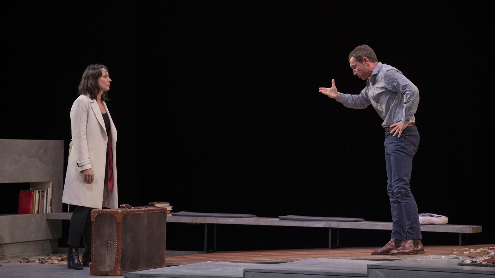 Maria Ribera y Pablo Derqui