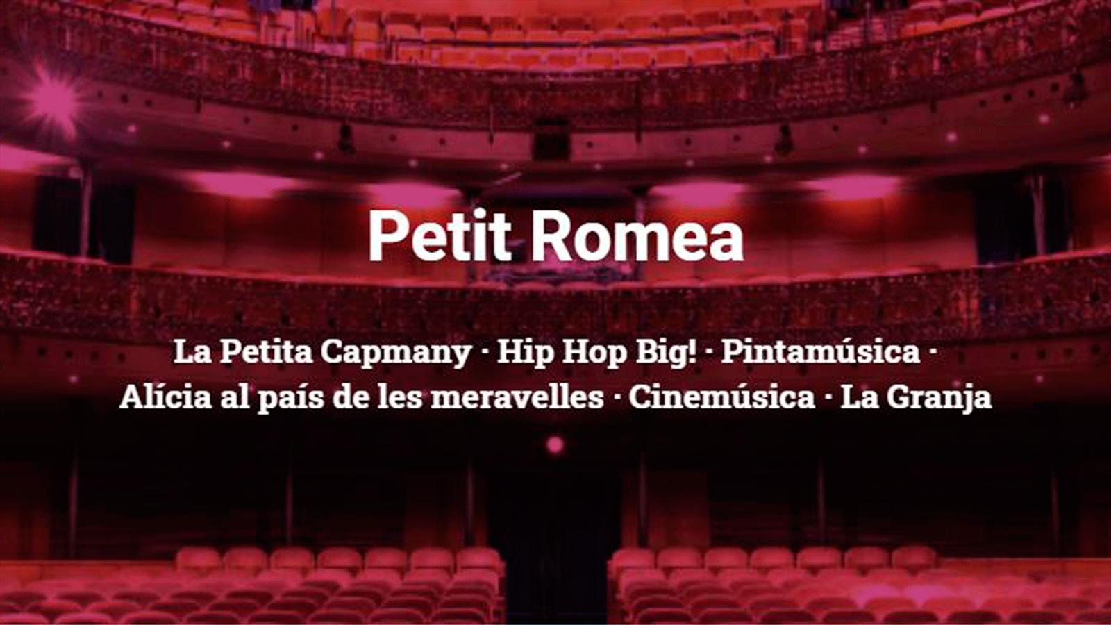 regala teatre petit romea barcelona