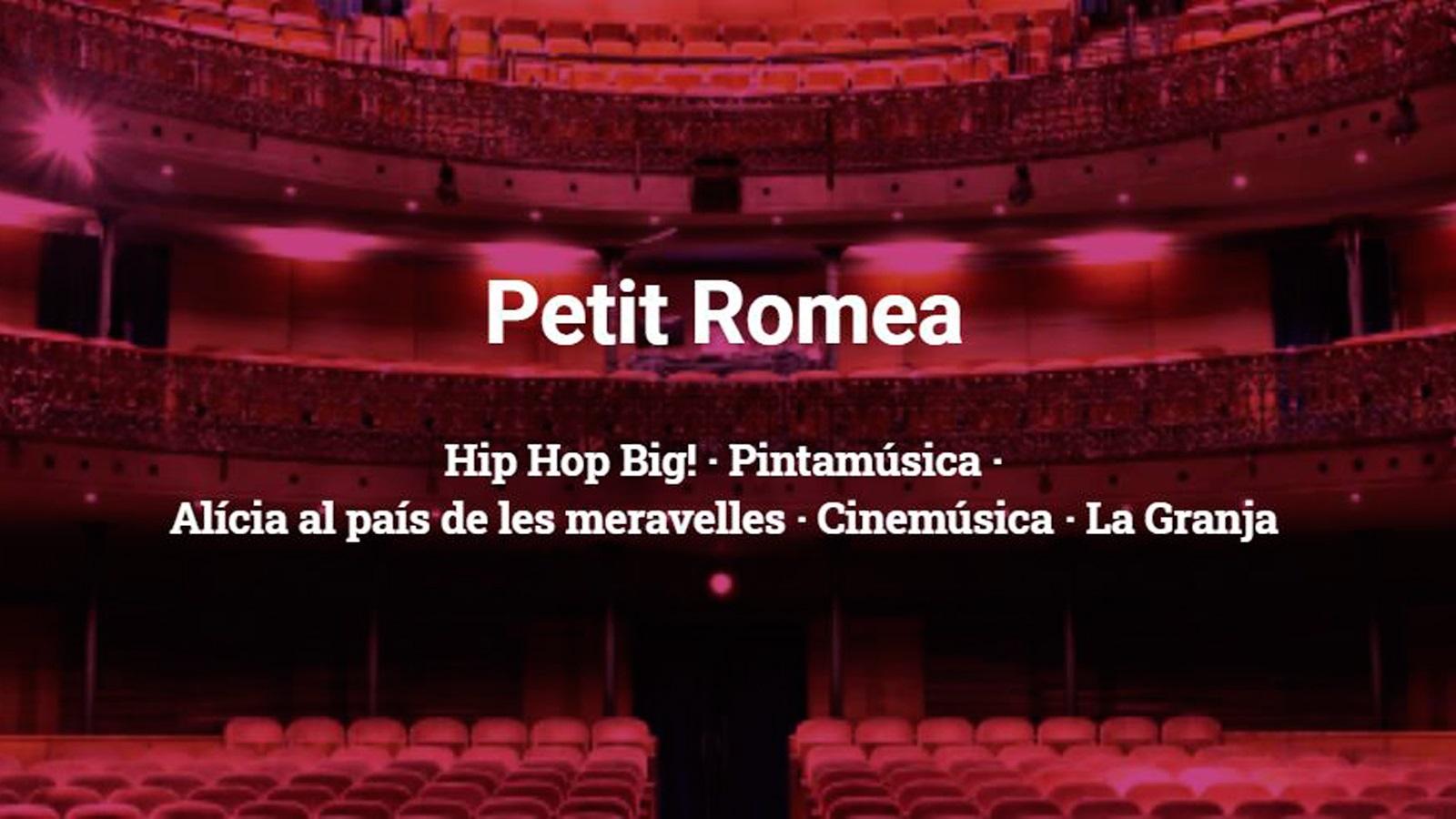 regala teatre petit romea