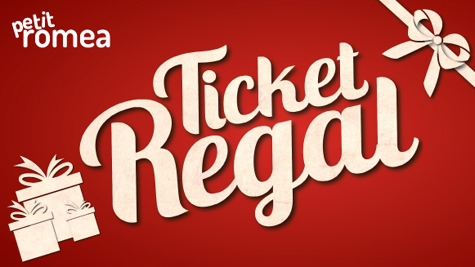 Tiquet Regal del Teatre Petit Romea de Barcelona