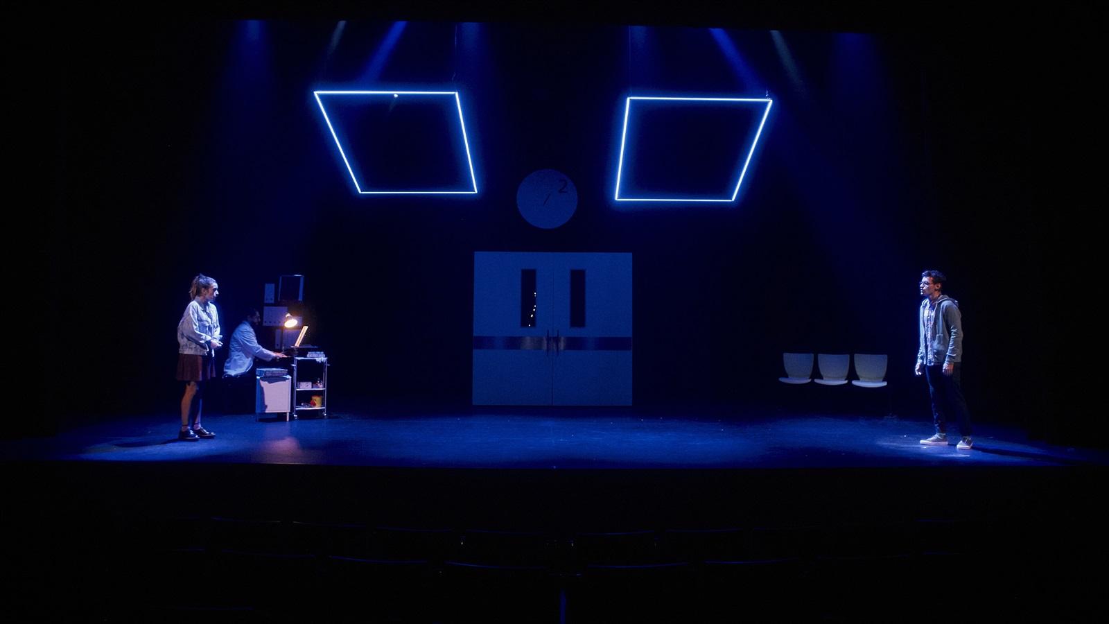 pegados el musical en el teatre condal de barcelona