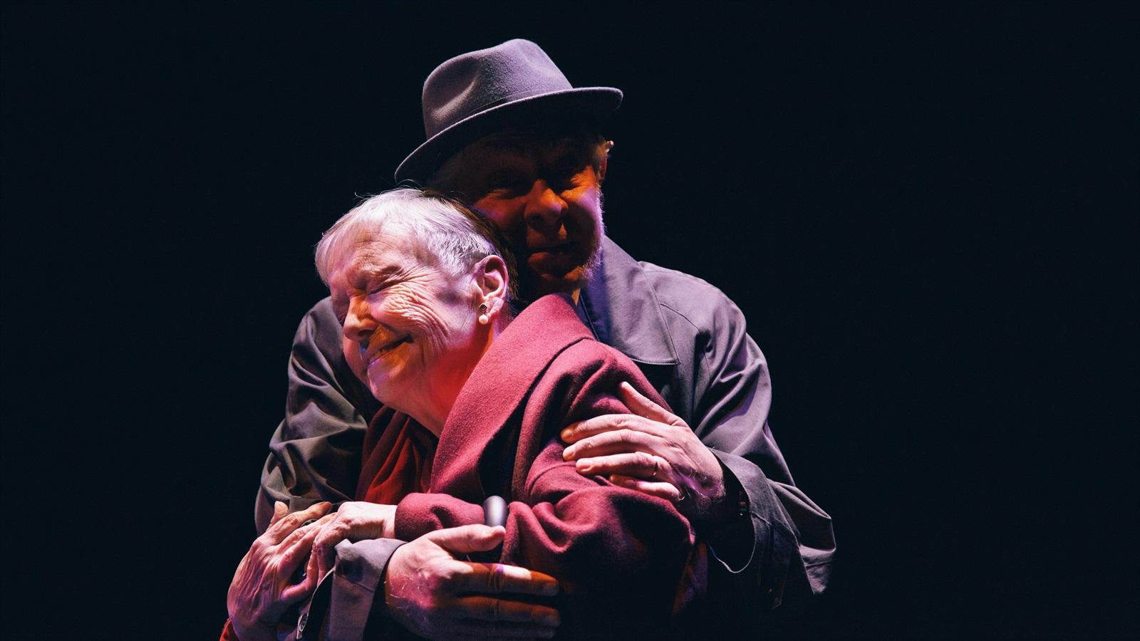 el abrazo al teatre goya de barcelona