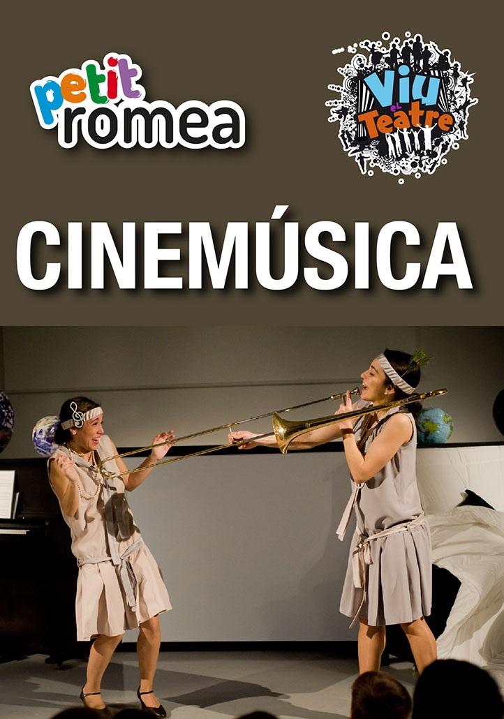 cinemúsica petit romea teatre infantil barcelona