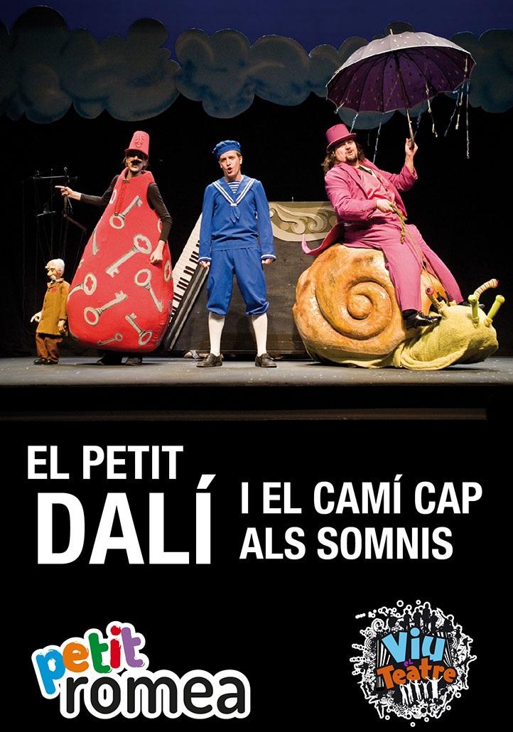 el petit dalí teatre infantil petit romea barcelona