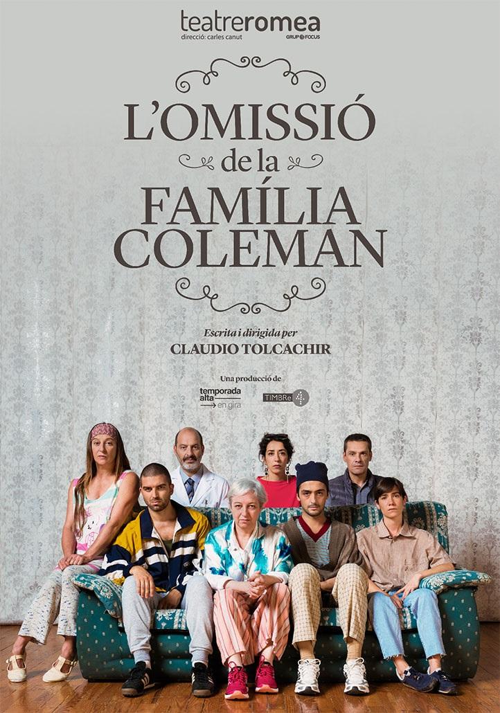 omissió de la família coleman teatre romea barcelona