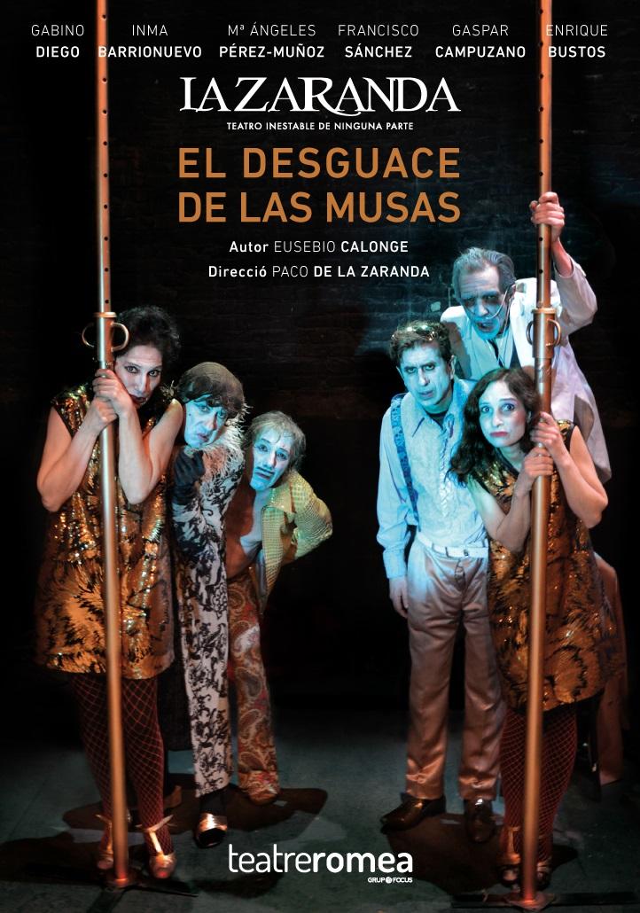 el desguace de las musas teatre romea barcelona