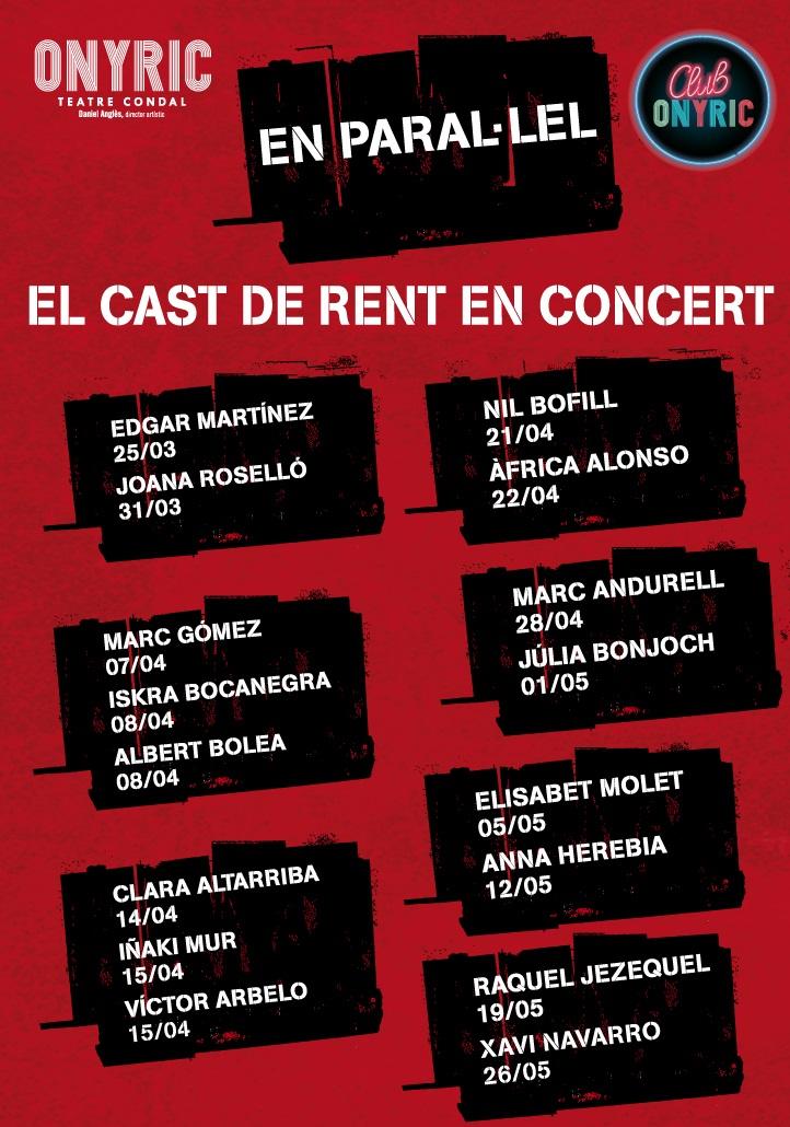 en paral·lel rent onyric teatre condal barcelona