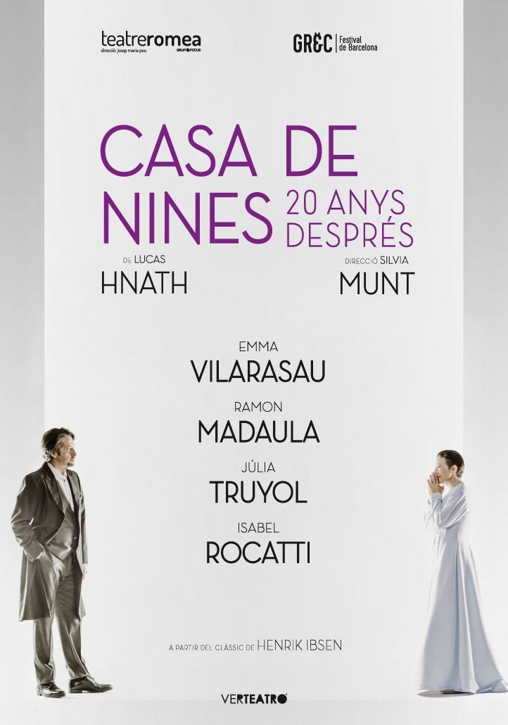 casa de nines, 20 anys després teatre romea barcelona
