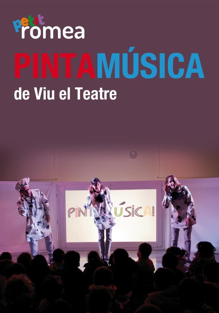 pintamúsica petit romea teatre barcelona