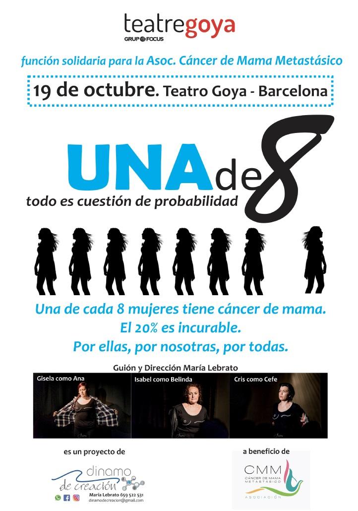 Una de 8 teatre goya barcelona