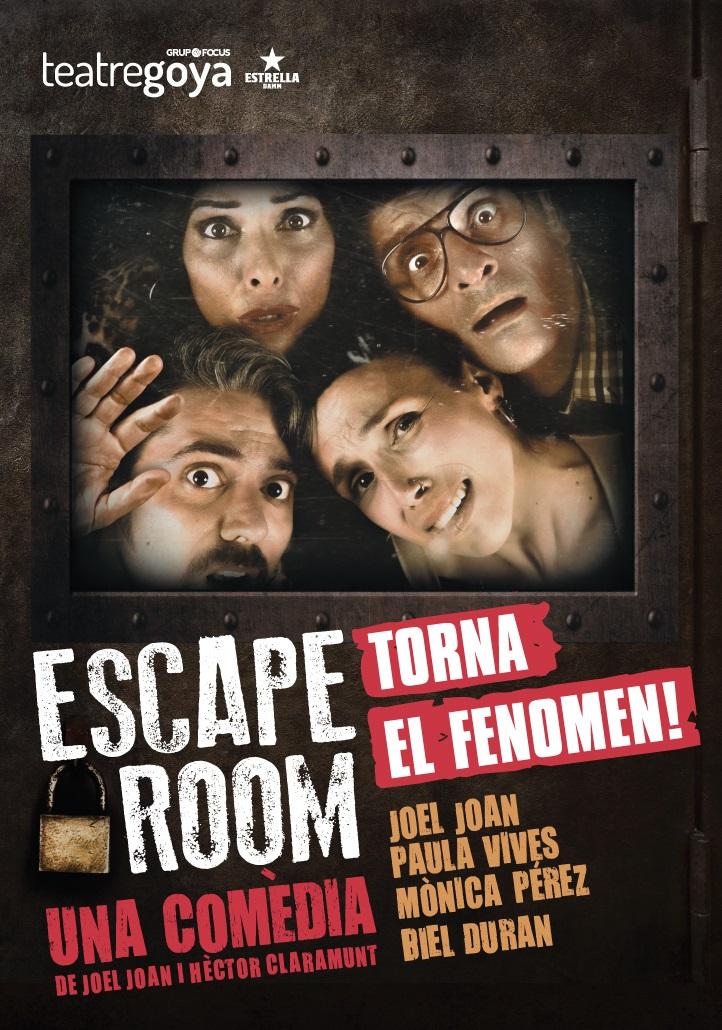 escape room al teatre goya de barcelona