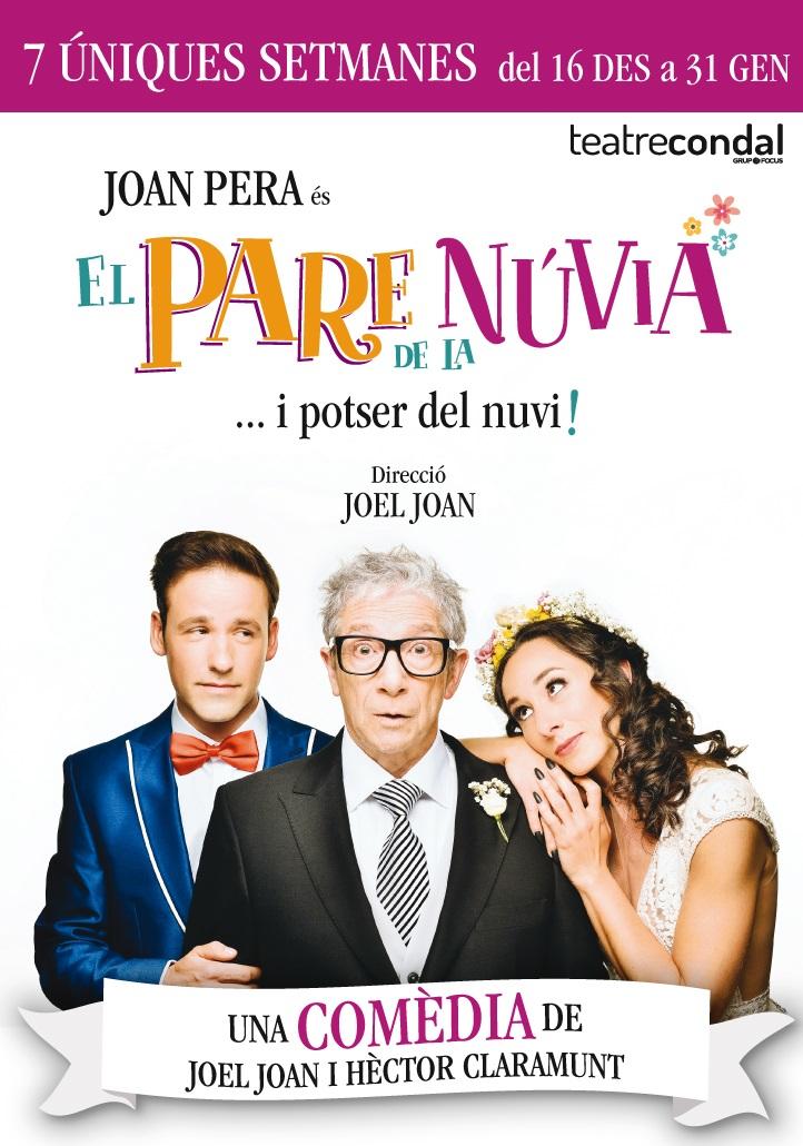 el pare de la nuvia al teatre condal de barcelona