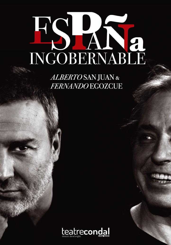españa ingobernable al teatre condal de barcelona
