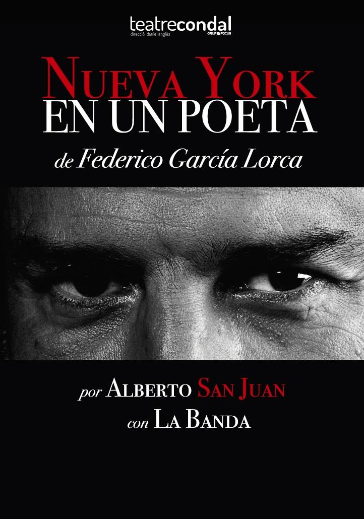 nueva york en un poeta al teatre condal de barcelona