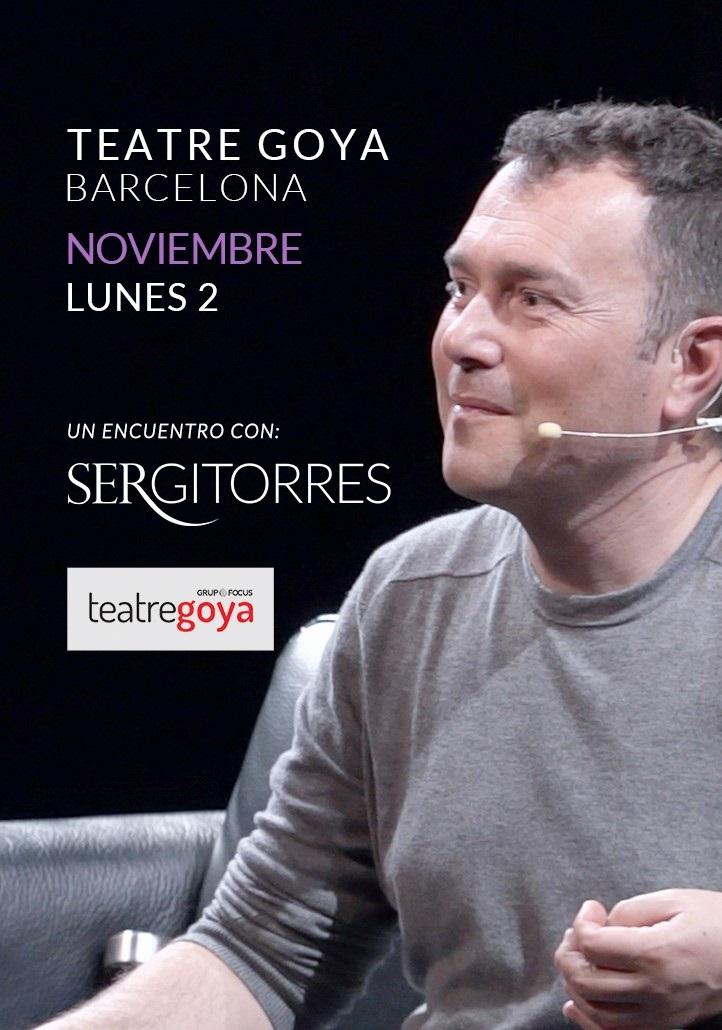 encuentro con sergi torres al teatre goya de barcelona