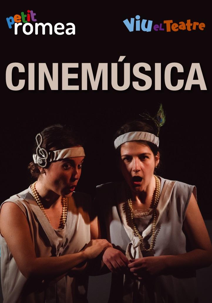 cinemusica al teatre petit romea de barcelona