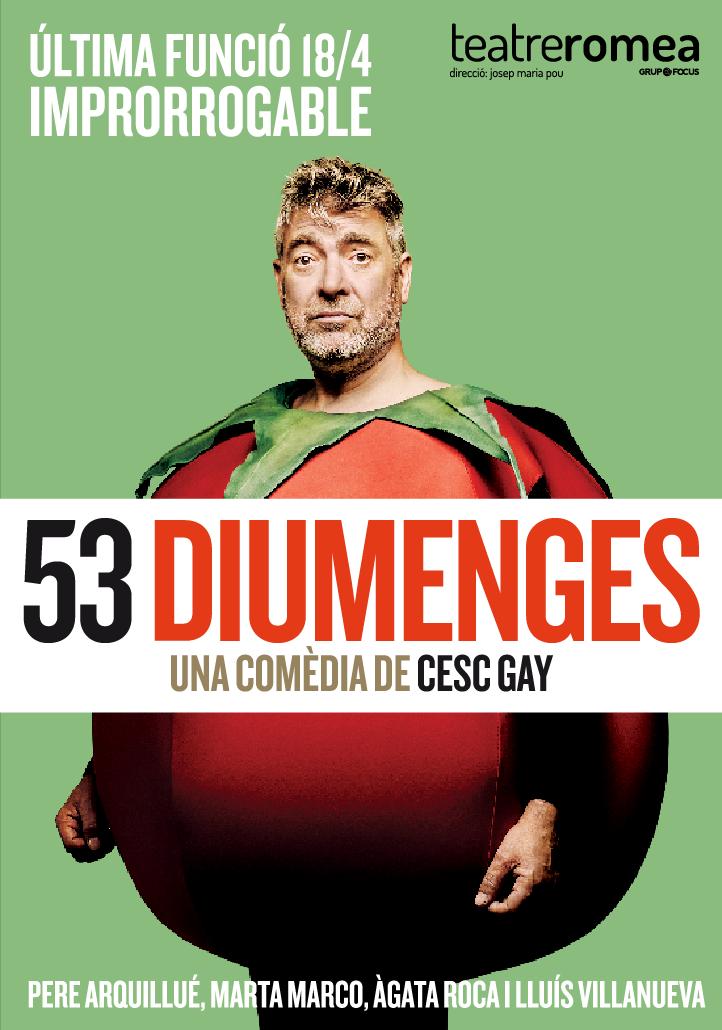 53 diumenges al teatre romea de barcelona