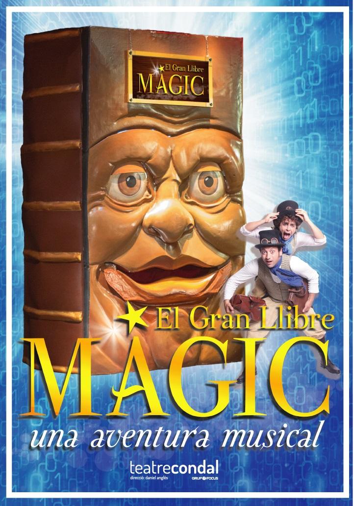 el gran llibre magic al teatre condal de barcelona