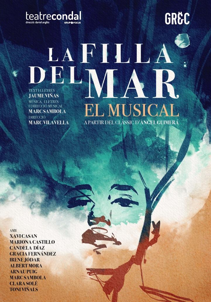 la filla del mar al teatre condal de barcelona en el festival grec