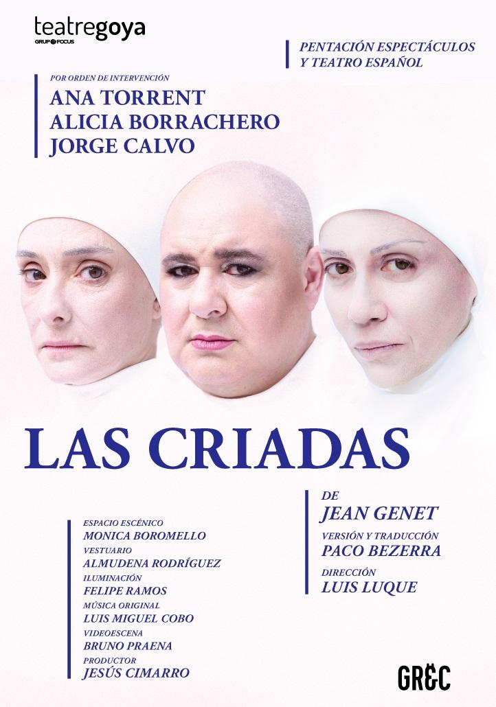 las criadas al teatre goya de barcelona