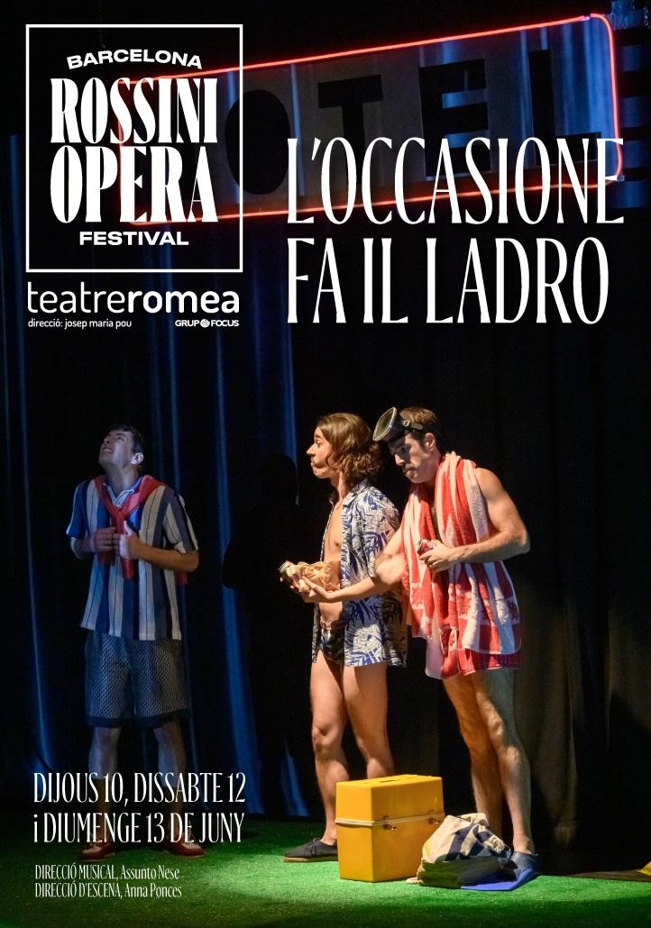 loccasione fa il ladro al teatre romea de barcelona