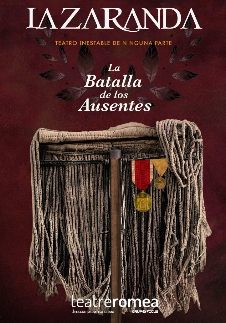 la batalla de los ausentes al teatre romea de barcelona