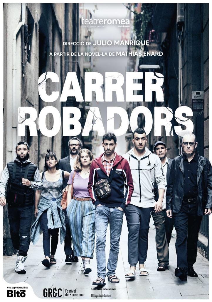 carrer robadors al teatre romea de barcelona
