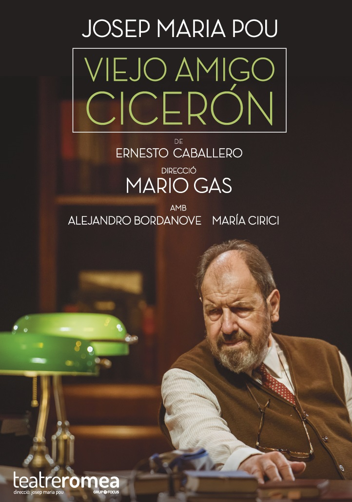 viejo amigo ciceron al teatre romea de barcelona
