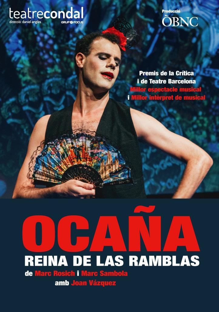 ocaña reina de las ramblas al teatre condal de barcelona
