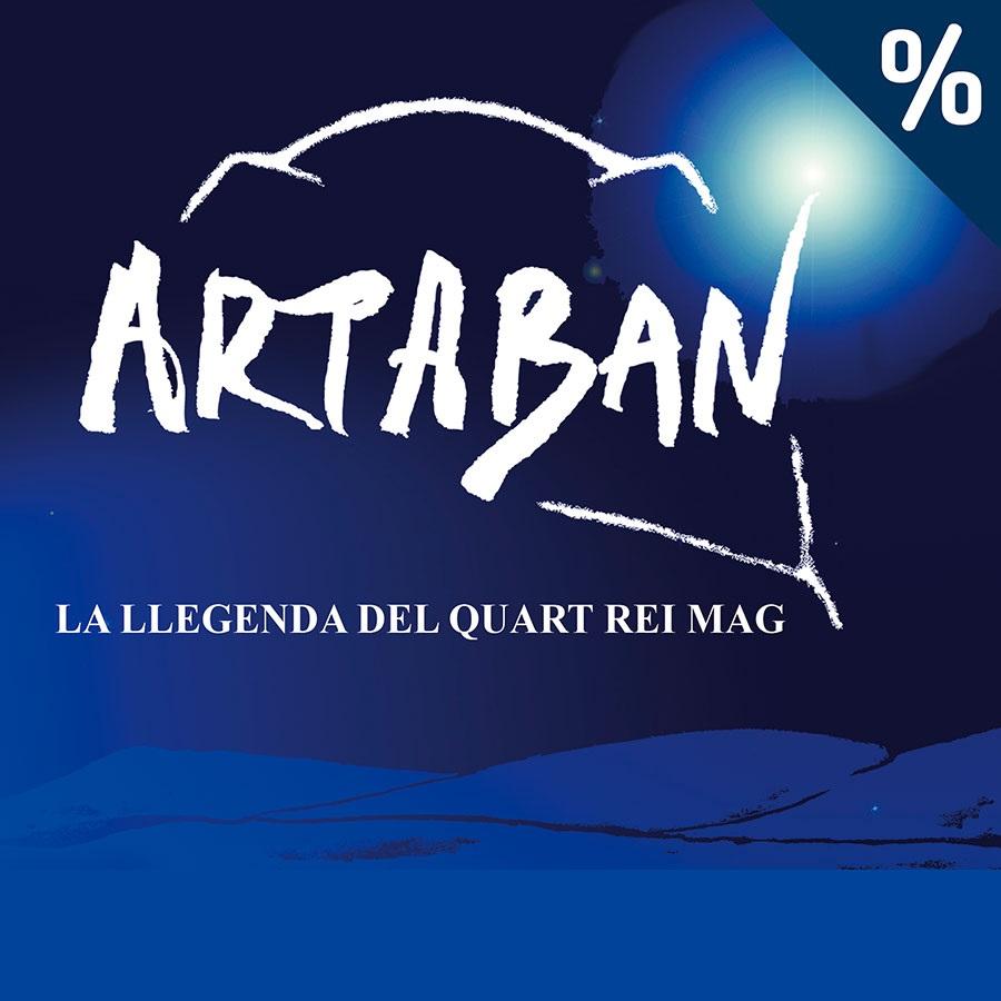 artaban, la llegenda del quart rei mag onyric teatre condal