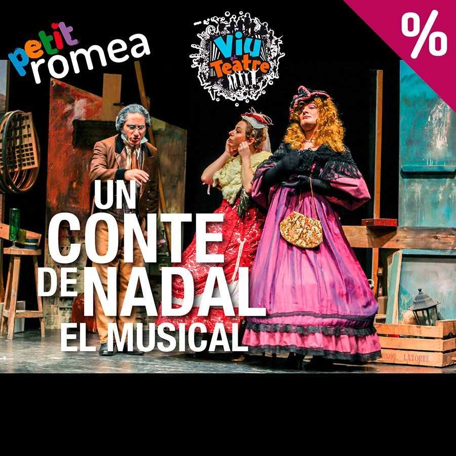 Un conte de Nadal petit romea teatre infantil barcelona