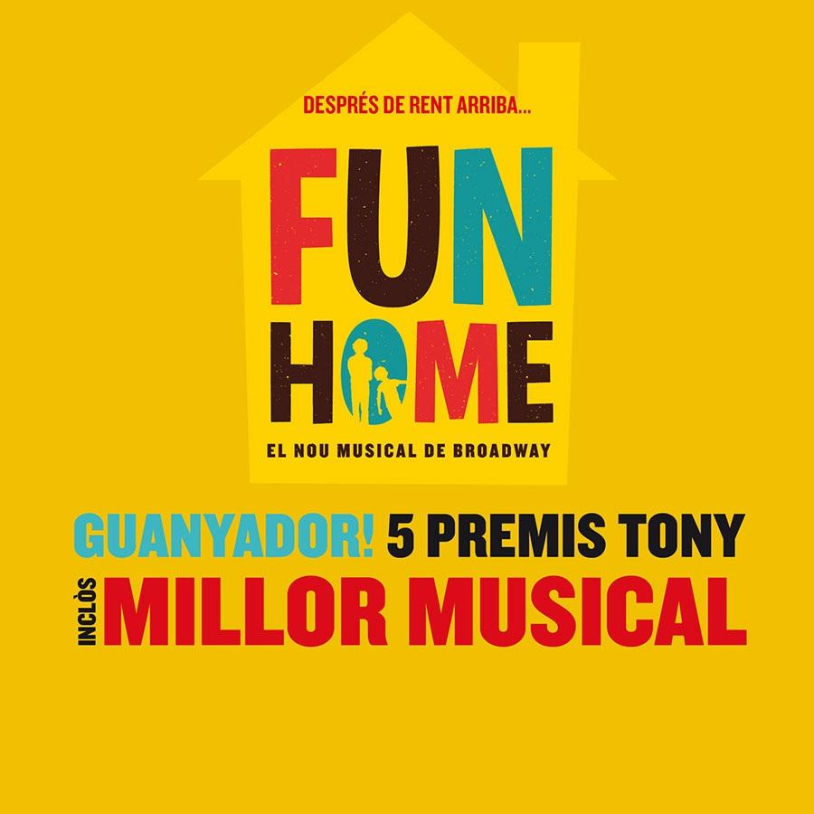 fun home musical onyric teatre condal barcelona