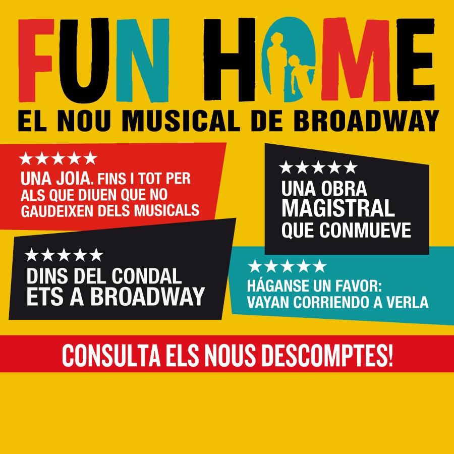 fun home musical barcelona