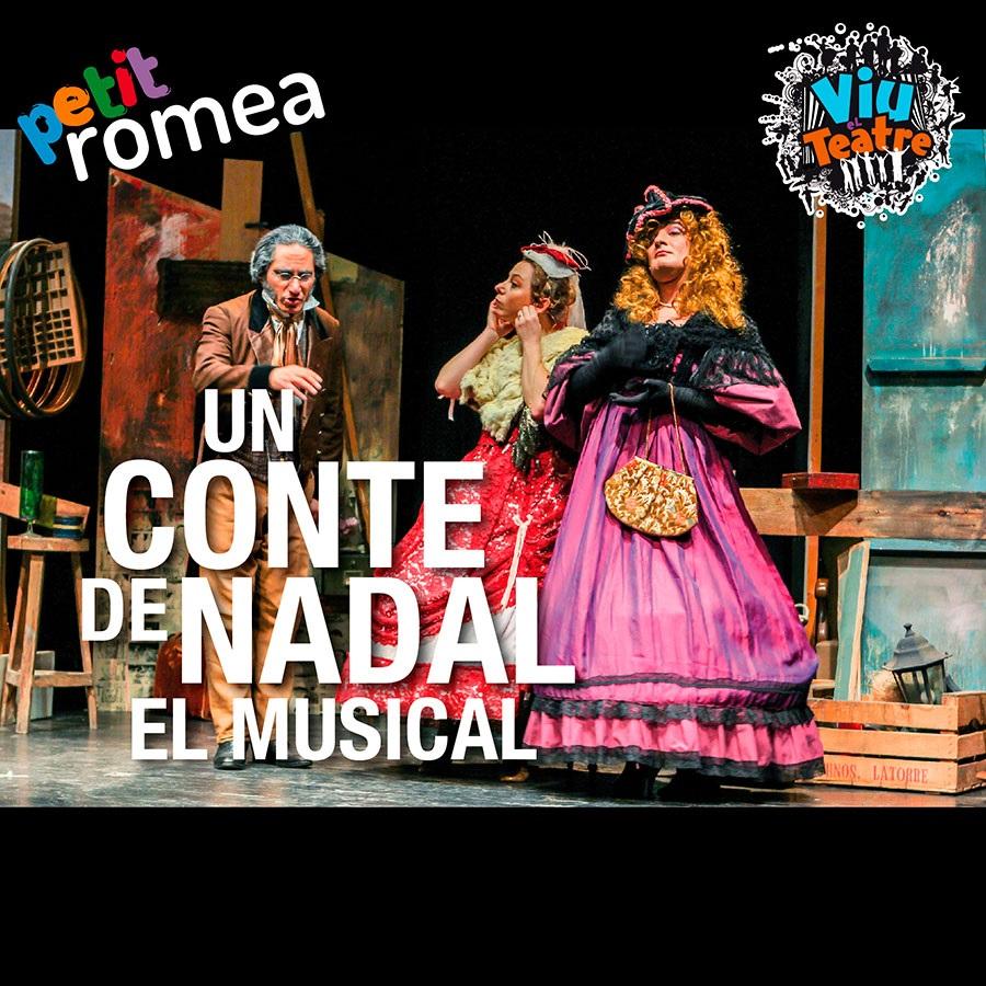 un conte de nadal, el musical teatre infantil barcelona